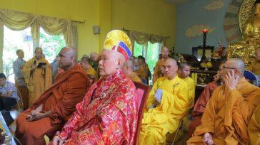 Tường thuật Đại Lễ Phật Đản 2558 và lễ Khánh Thành Quan Âm Các, Cổng Tam Quan